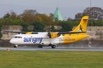 G-BWDB @ EGCC - Aurigny Air Services - by Chris Hall