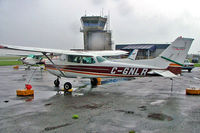 C-GNLR @ CYJN - Cessna 172N Skyhawk [172-69756] St. Jean~C 17/06/2005. Taken in a heavy downpour. - by Ray Barber