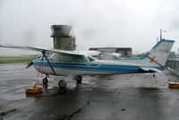 C-GQVV @ CYJN - Cessna 172N Skyhawk [172-73077] St. Jean~C 17/06/2005. Taken in a heavy downpour. - by Ray Barber