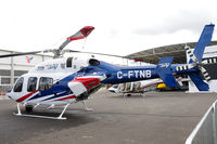 C-FTNB @ EGLF - On static display at FIA 2012. - by kenvidkid