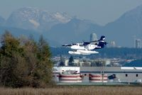 C-FGQH @ YVR - departure from the Fraser River - by metricbolt