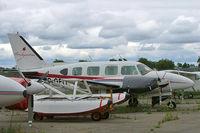 C-GFIY @ CYOW - Piper PA-31-310 Turbo Navajo B [31-7300915] Ottawa-Macdonald Cartier International~C 18/06/2005 - by Ray Barber