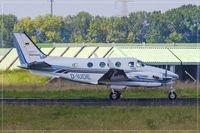 D-IUDE @ EDDR - Beech C90B King Air, - by Jerzy Maciaszek