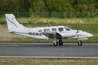 N141WR @ LFRB - Piper PA-34-220T, Landing rwy 07R, Brest-Bretagne airport (LFRB-BES) - by Yves-Q