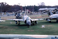 56-1221 @ BDL - High angle view of museum's F-102A (ex CT-ANG 118th FIS - 103rd FG Flying Yankees) - by John Hevesi