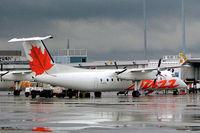 C-GVON @ CYUL - De Havilland Canada DHC-8-301 Dash 8 [149] (Air Canada Jazz) Montreal-Dorval~C 17/06/2005
