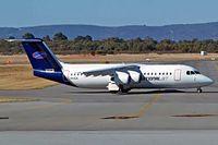 VH-NJN @ YPPH - BAe 146-300 [E3217] (National Jet Express) Perth Int'l~VH 29/03/2007