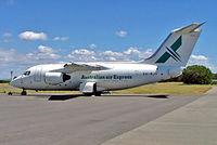 VH-NJV @ YBBN - BAe 146-100QT [E1002] (Australian air Express) Brisbane-International~VH 18/03/2007
