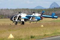 VH-INM @ YCDR - McDonnell Douglas MD-500E (369E) [0457E] Caloundra~VH 19/03/2007