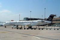 D-ACPT @ LSZH - Canadair CRJ-700 [10103] (Lufthansa) Zurich~HB 22/07/2004 - by Ray Barber