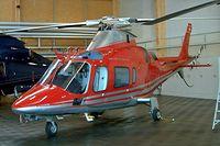 HB-XQE @ LSZB - HB-XQE   Agusta A.109E Power [11016] Bern Belp~HB 23/07/2004