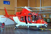 HB-XWC @ LSZB - Agusta A.109K2 [10003] (Swiss Air Ambulance) Bern Belp~HB 23/07/2004