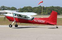 N2985K @ EVB - Cessna 180K