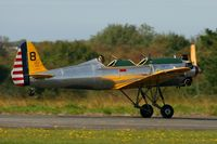N53018 @ LFRU - Ryan Aeronautical ST3KR, Take off rwy 05, Morlaix-Ploujean airport (LFRU-MXN) air show in september 2014 - by Yves-Q