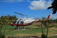 3B-NZD - Belle jet Ranger 3B-NZD Air Mauritius - by Eric Leprince