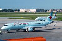 C-FNAX @ CYWG - Embraer Emb-190-100IGW [19000151] (Air Canada) Winnipeg-International~C 26/07/2008