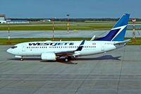 C-GWVJ @ CYWG - Boeing 737-7CT [36421] (Westjet) Winnipeg-International~C 26/07/2008 - by Ray Barber