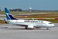C-GUWJ @ CYWG - Boeing 737-7CT [36422] (Westjet) Winnipeg-International~C 26/07/2008 - by Ray Barber