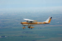 N6772F - After annual flying back home to KICL over SW Iowa - by Floyd Taber
