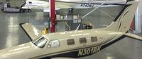 N301BK @ KPWK - In the hangar - by Floyd Taber