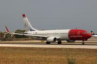 LN-NOU @ LMML - B737-800 LN-NOU Norwegian Air Shuttle - by Raymond Zammit