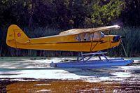 N1586N @ 96WI - Piper J-3C-65 Cub [23118] Vette/blust Seaplane Base Oshkosh~N 30/07/2008 - by Ray Barber