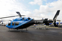 C-FTNB @ EGLF - On static display at FIA 2010. - by kenvidkid