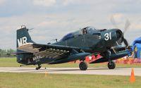 N62466 @ YIP - EA-1E Skyraider
