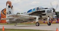 N65164 @ YIP - EA-1E Skyraider