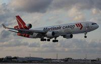 PH-MCU @ MIA - Martinair MD-11F