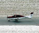 C-GWVS @ CYWG - Cirrus SR22 taxiing after landing in Winnipeg, MB. - by Kreg Anderson