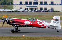 G-IIHI @ EGLF - Take off run for it's display. - by kenvidkid