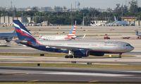 VQ-BBE @ MIA - Aeroflot A330-200