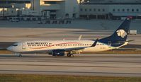 XA-MIA @ MIA - Aeromexico with the ideal registration for the location