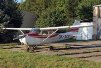 OK-ACP @ LKKL - Cessna 172H Skyhawk [172-56363] Kladno~OK 08/09/2012. Crashed on 03-01-2014