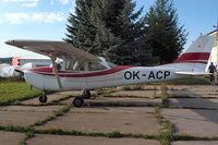 OK-ACP @ LKKL - Cessna 172H Skyhawk [172-56363] Kladno~OK 08/09/2012. Crashed on 03-01-2014