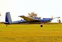OK-7114 @ LKKL - OK-7114   Aerotechnik L-13SW Vivat [870210] Kladno~OK 08/09/2012. Landing shots.
