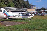 OK-FDK @ LKKL - R/Cessna F.152 [1697] Kladno~OK 08/09/2012