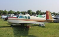 N500LT @ KOSH - Mooney M20G