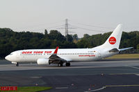 D-AXLF @ EDDL - Boeing 737-8Q8 [28218] (Ogur Turk Air) Dusseldorf~D 15/09/2012 - by Ray Barber