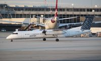 C-GLQK @ KIAD - DHC-8-402Q - by Mark Pasqualino
