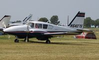 N54075 @ KOSH - Piper PA-23-250 - by Mark Pasqualino