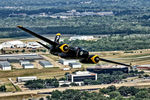 N240P @ RBD - Air to air with the A-26 on the way to the 2014 Warbirds on Parade