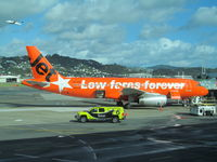 VH-VGF @ NZWN - right side special c/s - by magnaman