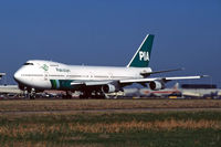 AP-BCO @ EHAM - Classic 747 taking off from Schiphols RWY 24 in the second halve of the '90's - by Marc Heesters