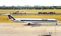 I-DANV @ EDDT - McDonnell Douglas DC-9-82 [53205] (Alitalia) Berlin-Tegel~D 18/05/1998