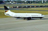 D-ADBD @ EDDT - D-ADBD   Boeing 737-3L9 [27061] (Deutsche BA) Berlin-Tegel~D 18/05/1998 - by Ray Barber