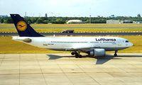 D-AIDF @ EDDT - Airbus A310-304 [524] (Lufthansa) Berlin-Tegel~D 18/05/1998 - by Ray Barber