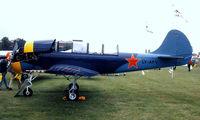 LY-AFV @ EGTC - Yakovlev Yak-52 [899915] Cranfield~G 05/07/1998 - by Ray Barber