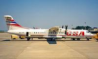 OK-XFB @ LDZA - Aerospatiale AR-72-201 [297] (CSA Czech Airlines) Zagreb~9A 18/06/1996